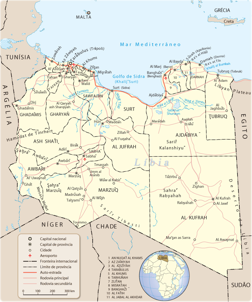 LIBIA MAPA | Dictionary Bank LIBIA MAPA