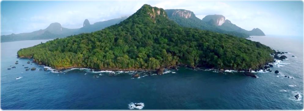 Resultado de imagem para ilha do principe - biósfera