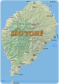 Mapas De Sao Tome E Principe